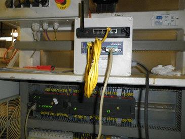 Modem eWON připojený přes Wifi